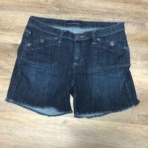 Rock & Republic Stinger Denim Cutoff Shorts